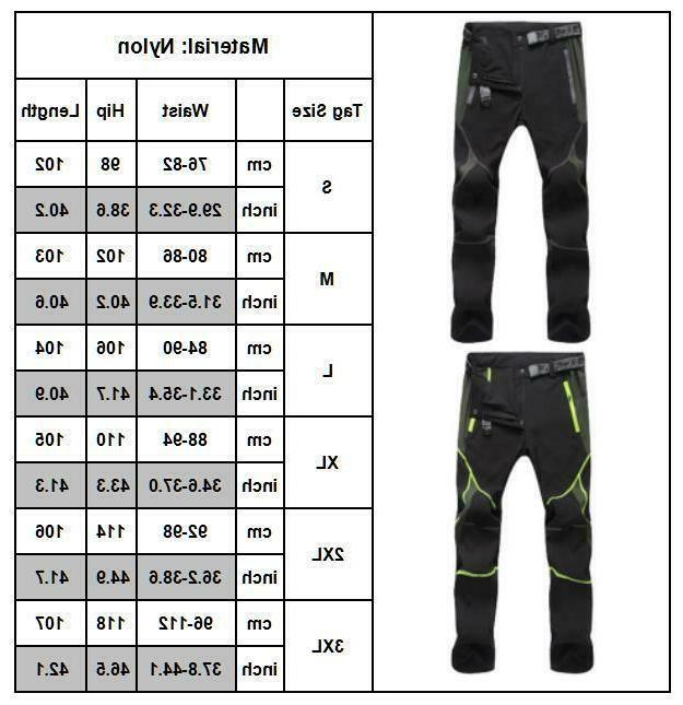 Men's Pants Hiking Trousers Dry
