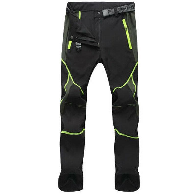 Men's Waterproof Tactical Cargo Pants Hiking Trousers Quick