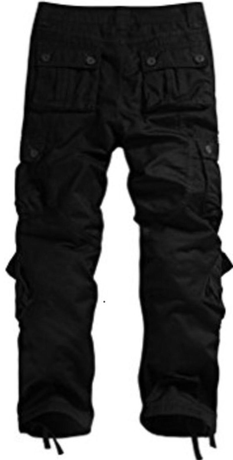 Match Wild Pants BLACK