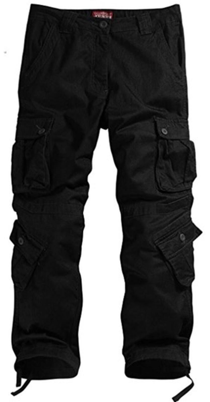 Match Cargo Pants BLACK
