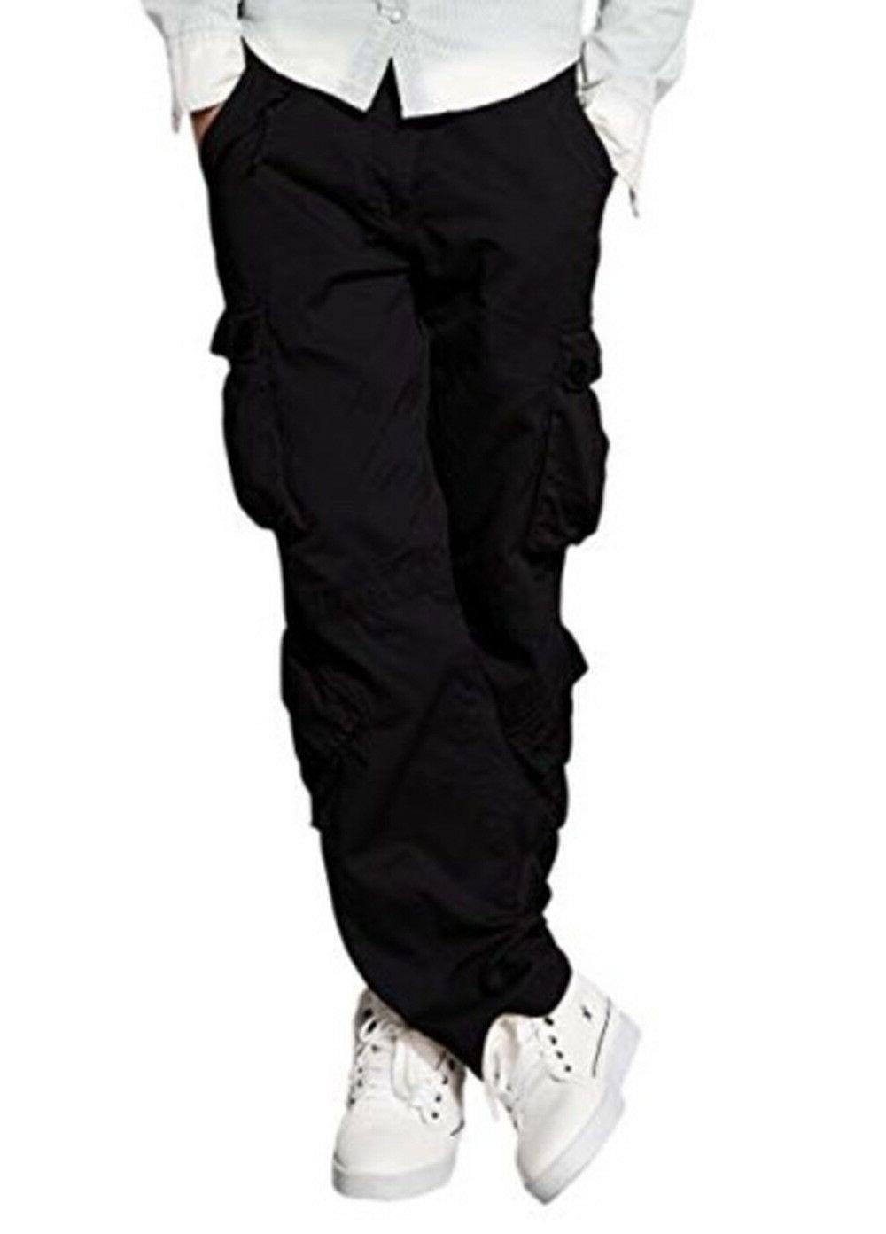 men s wild cargo pants 3357 black