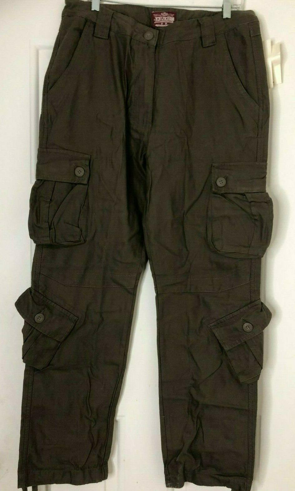 men s wild cargo pants dark khaki
