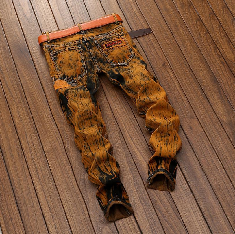 Jeans Distressed Fit Denim US