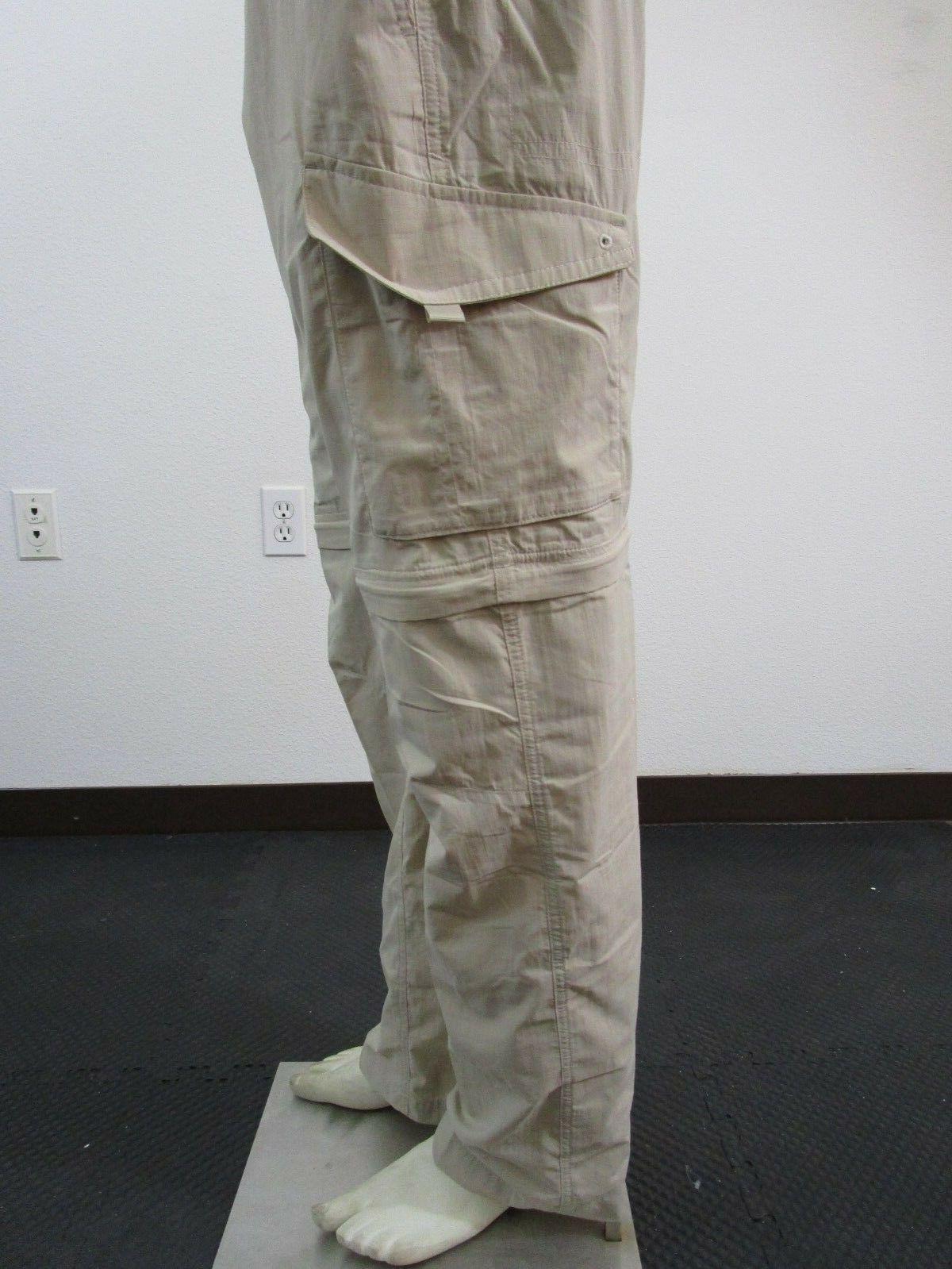 Mens 30-32-34-36-38-40 Columbia Palm Peak Fishing Pants - Fossil
