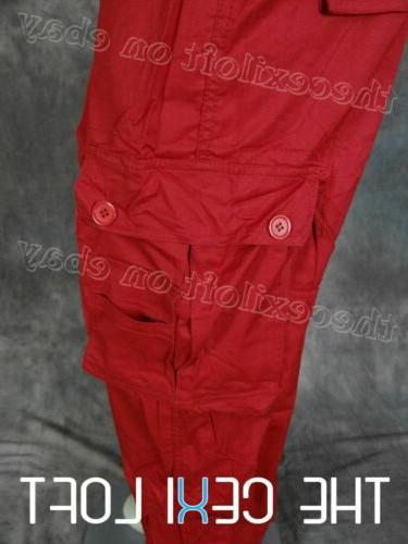 Mens in RED Flap