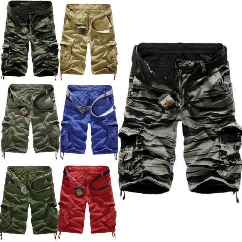 Mens Army Military Cargo Combat Short Pants