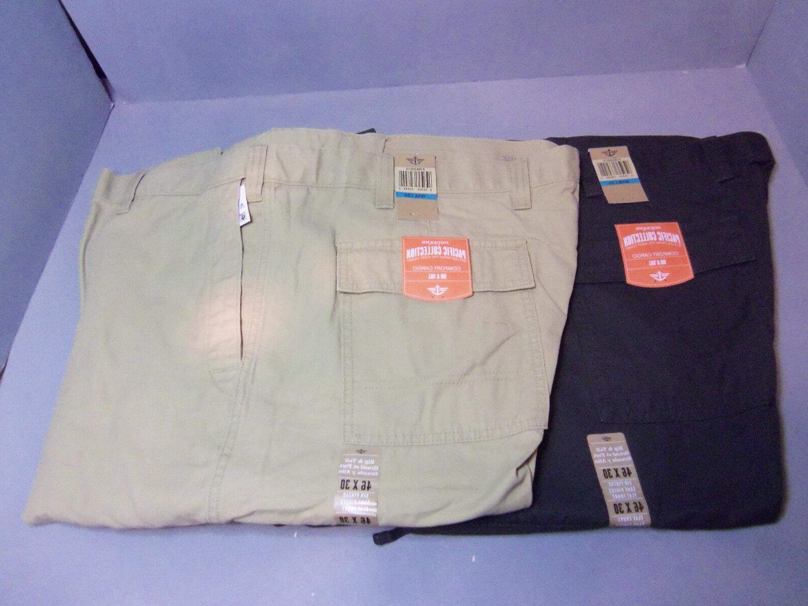 Dockers Mens Big & Tall Comfort Cargo Pants.Colors! Sizes!