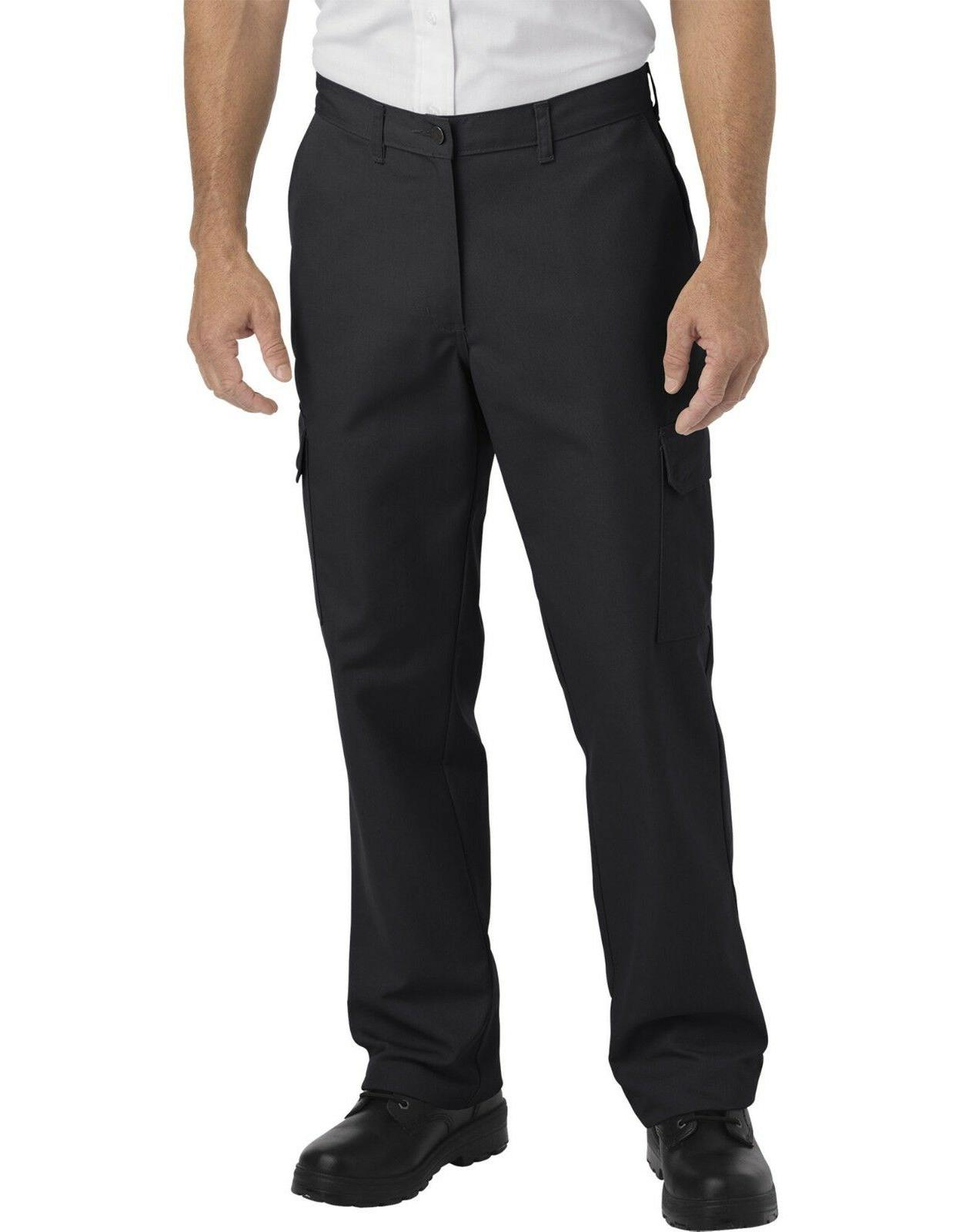 mens black industrial relaxed fit straight leg