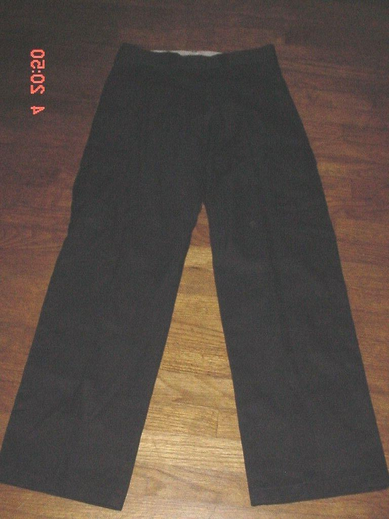 mens black work industrial relaxed fit straight