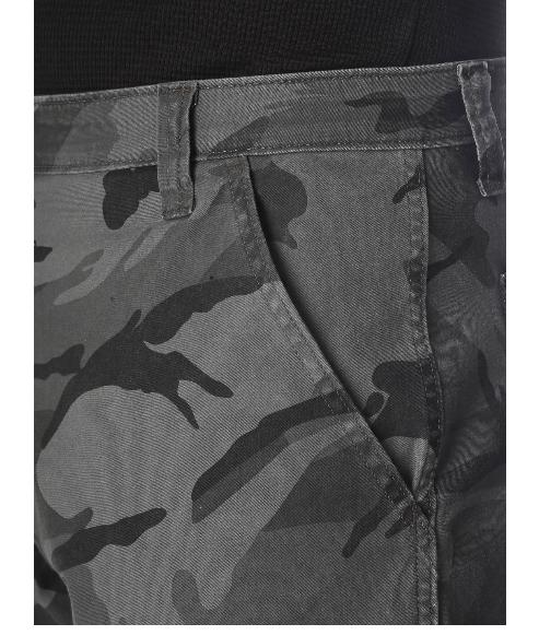 Mens Camo Flex Cargo Tech Pocket 38 40 44 46