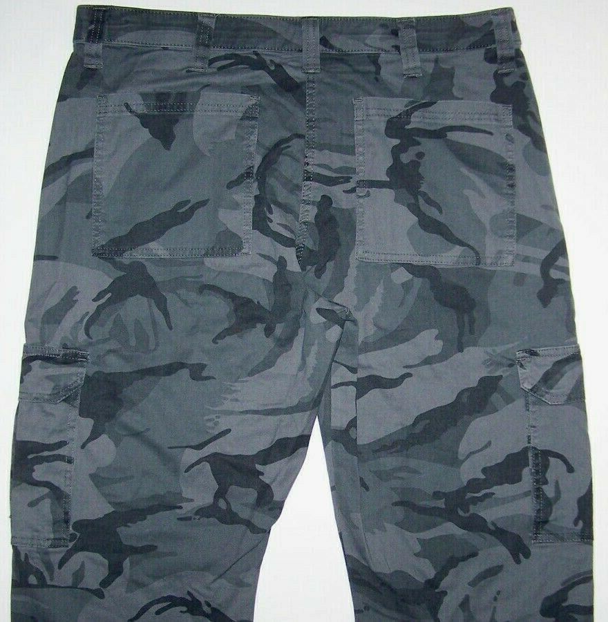 Mens Cargo Pants Tech Pocket 36 46