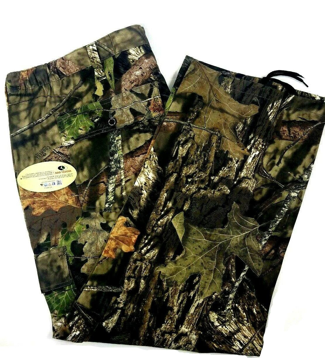 Mens Mossy Oak Camouflage Cargo Pants NEW! Deer Hunting Size