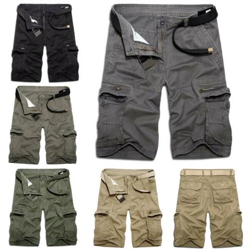 Men Military Cargo Casual