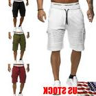 mens cargo shorts pants casual army combat