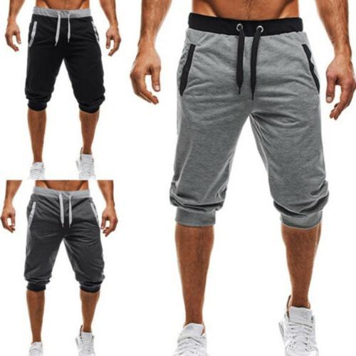 Mens Cargo Shorts Casual Gym