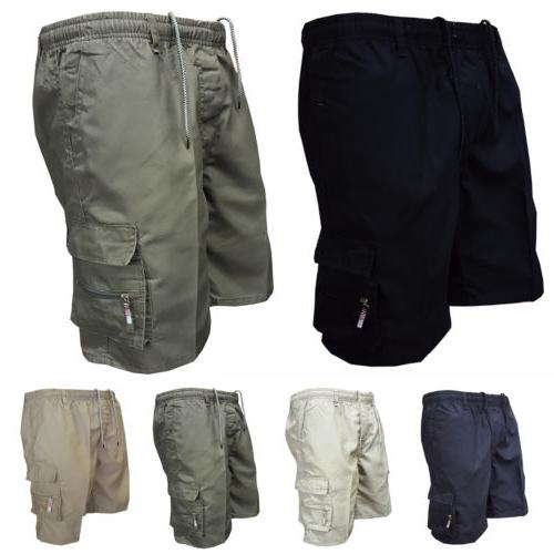 Mens Shorts Pants Casual Summer Gym Plain