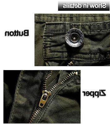 Mens Combat Cargo Tactical Military Army Pants