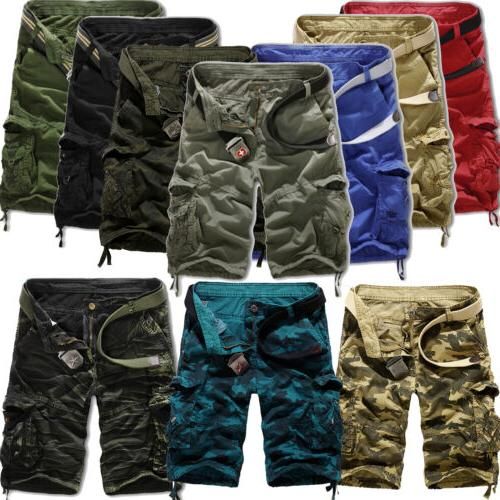 mens combat cargo shorts tactical military army