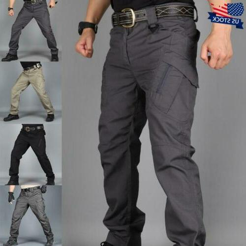 mens combat trousers army military cargo tactical