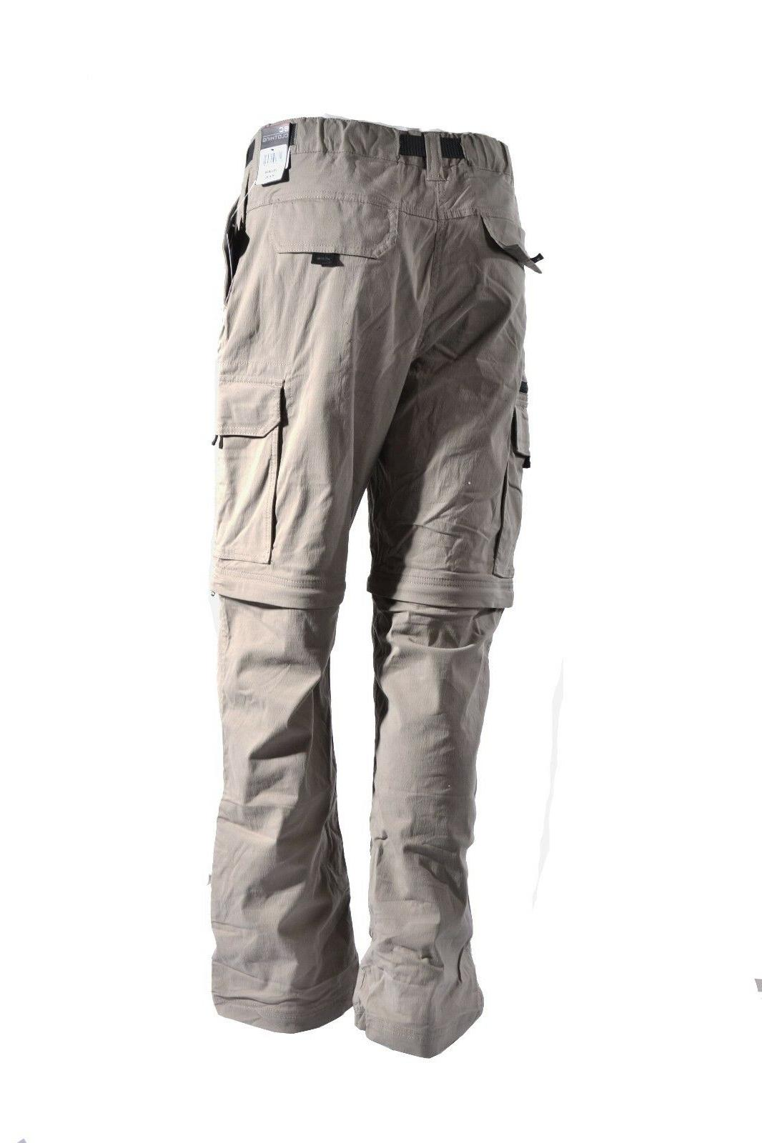 BC Clothing Pants Zip-Off Hiking