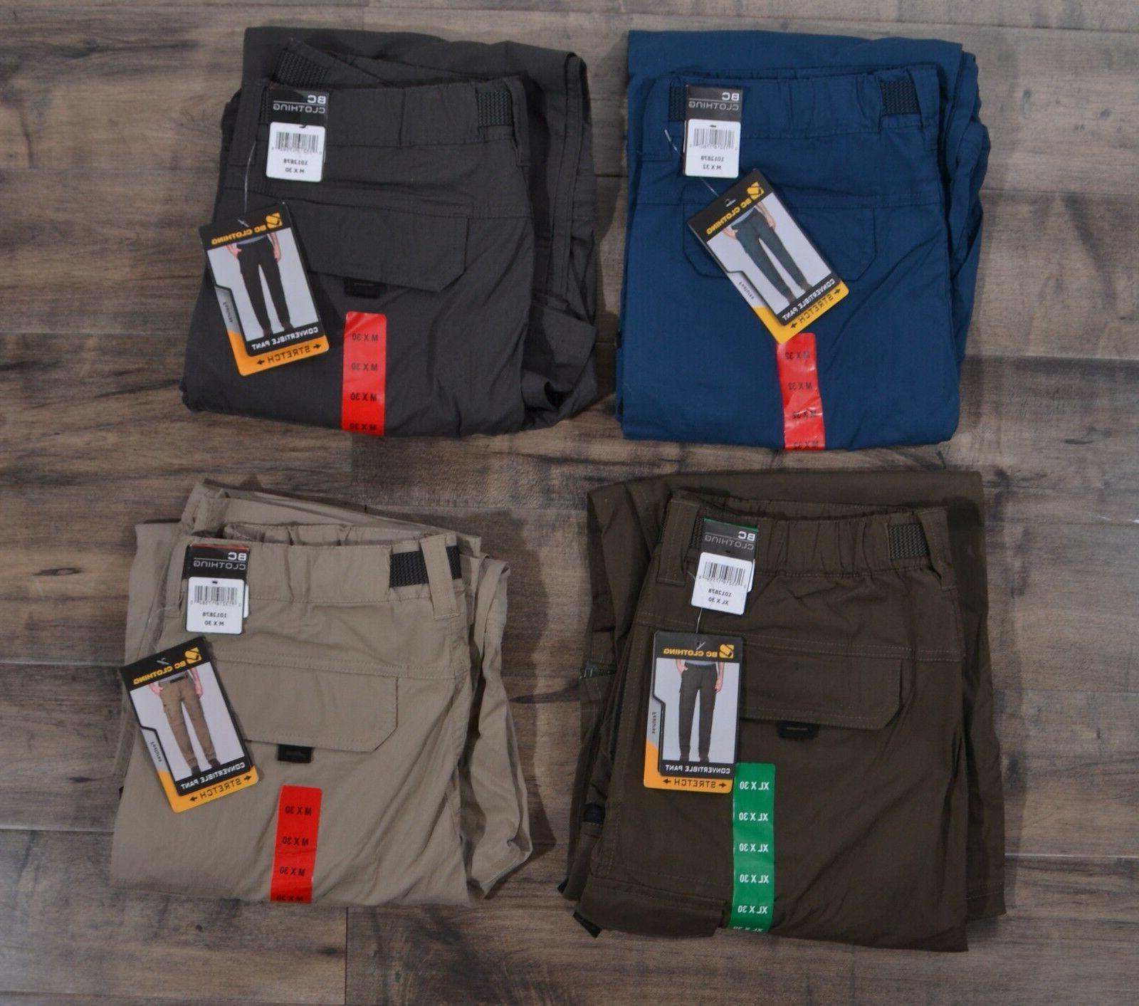 BC Pants Zip-Off Cargo Hiking