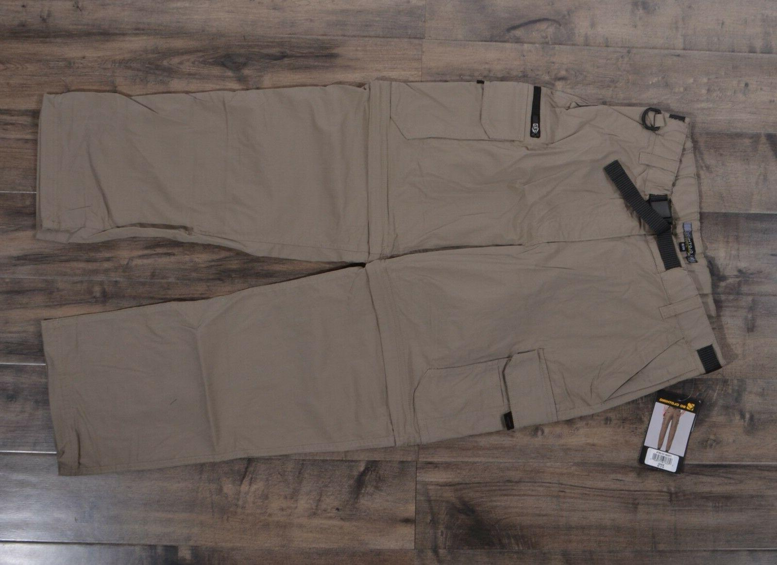 BC Convertible Pants Zip-Off Cargo Hiking Stretch