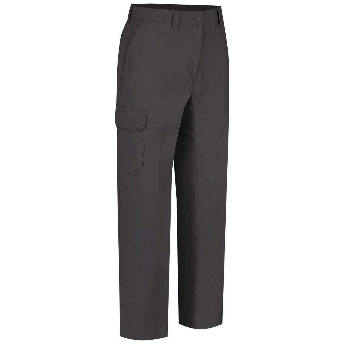 Wrangler Mens Functional Cargo Work Pants, Charcoal