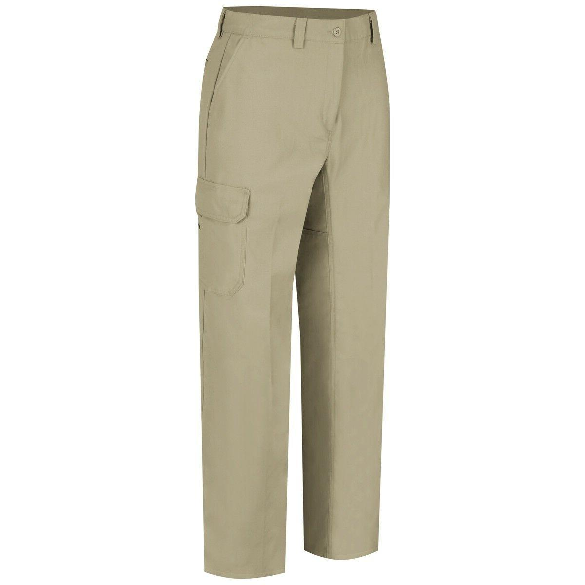 Wrangler Mens Functional Cargo Work Pants, Khaki