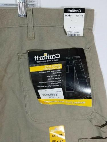 Carhartt Mens Pants Jeans 48x30 NWT