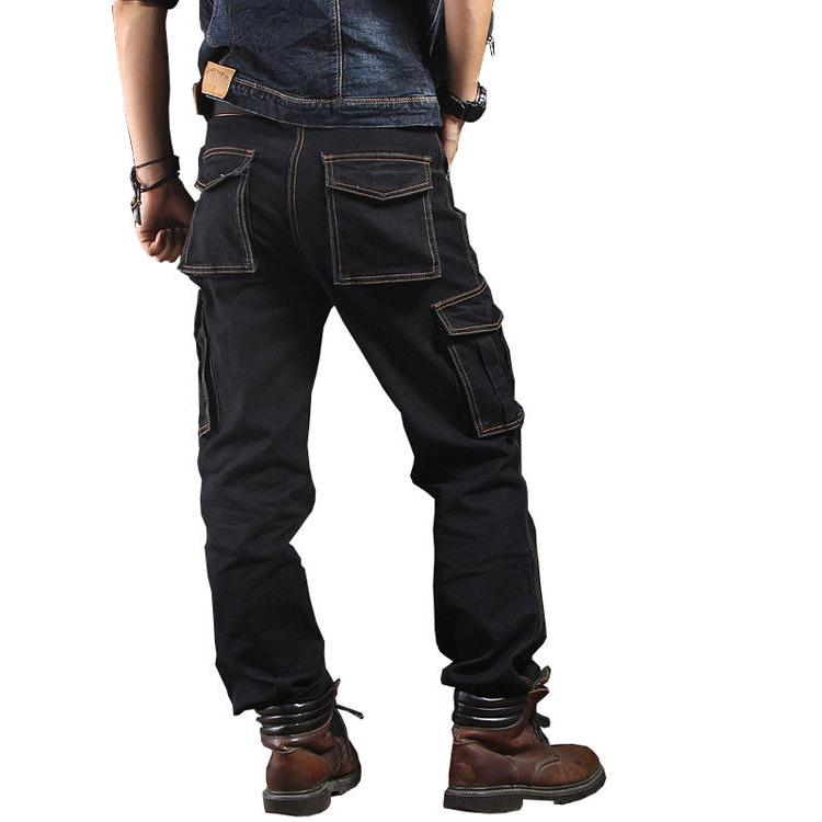 Mens Jeans Casual Pants Trousers