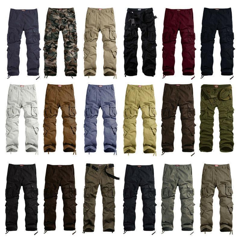 Match Camo Work Pants