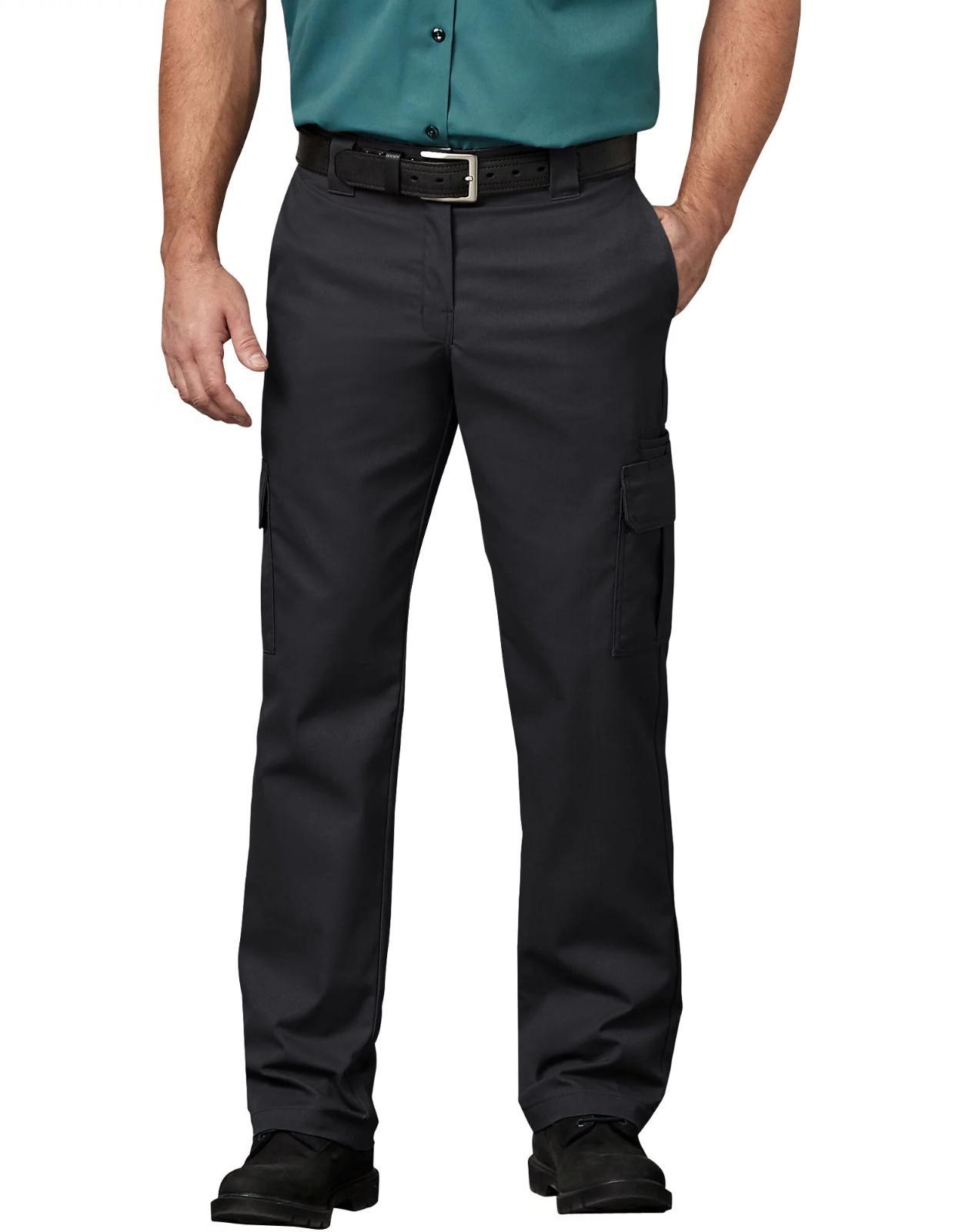 Dickies Mens Pants Regular Fit Leg Work Cargo Twill Pants