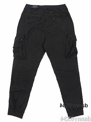 Mens Polo STRAIGHT Utility Lounge Cargo Pants