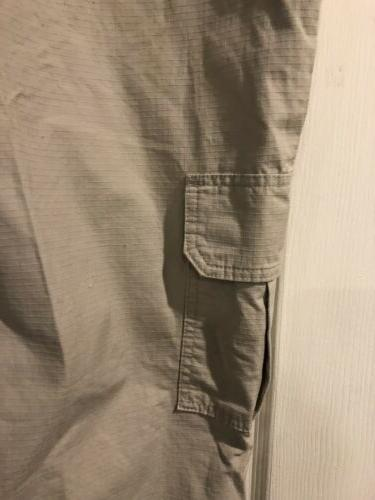 Dickies Mens Relaxed Fit Lightweight CARGO Pocket Pant Beige New