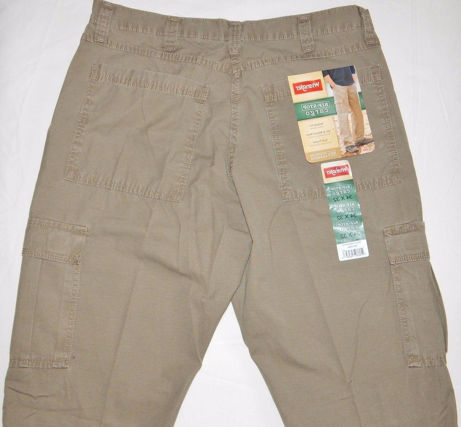 Men's Wrangler Pants Relaxed Tech 34-48