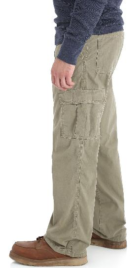 Men's Wrangler RipStop Pants Khaki Tech ALL 34-48