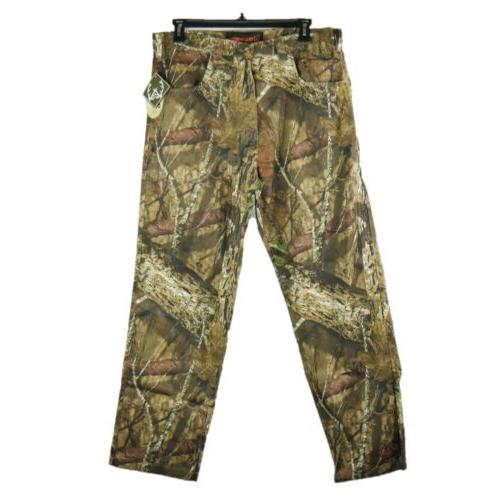 mens size 36x32 mossy oak camouflage cargo