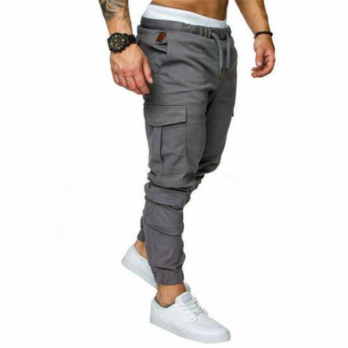 Mens Slim Urban Trousers Pants