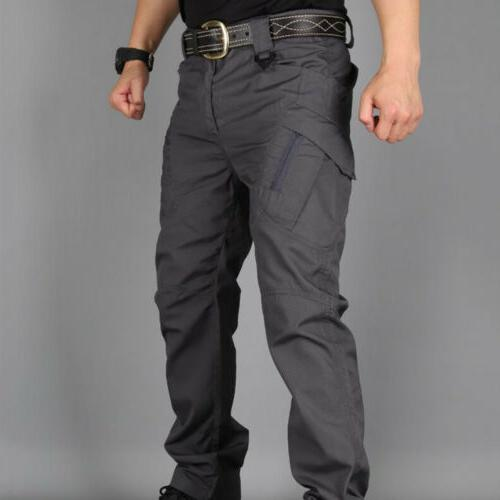US Mens Combat Trousers Tactical Cargo Pocket Outdoor Pants