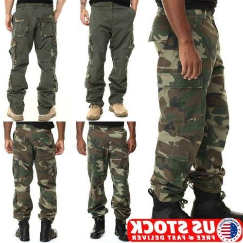 mens tactical waterproof cargo pants carpenter combat