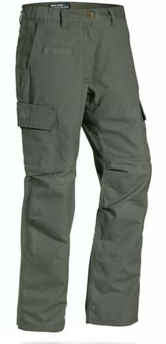 LA Police Gear Mens Urban Ops Tactical Cargo Pants -, OD Gre