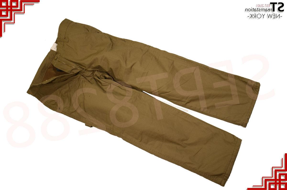 Mens Cotton Lined Pockets Pants