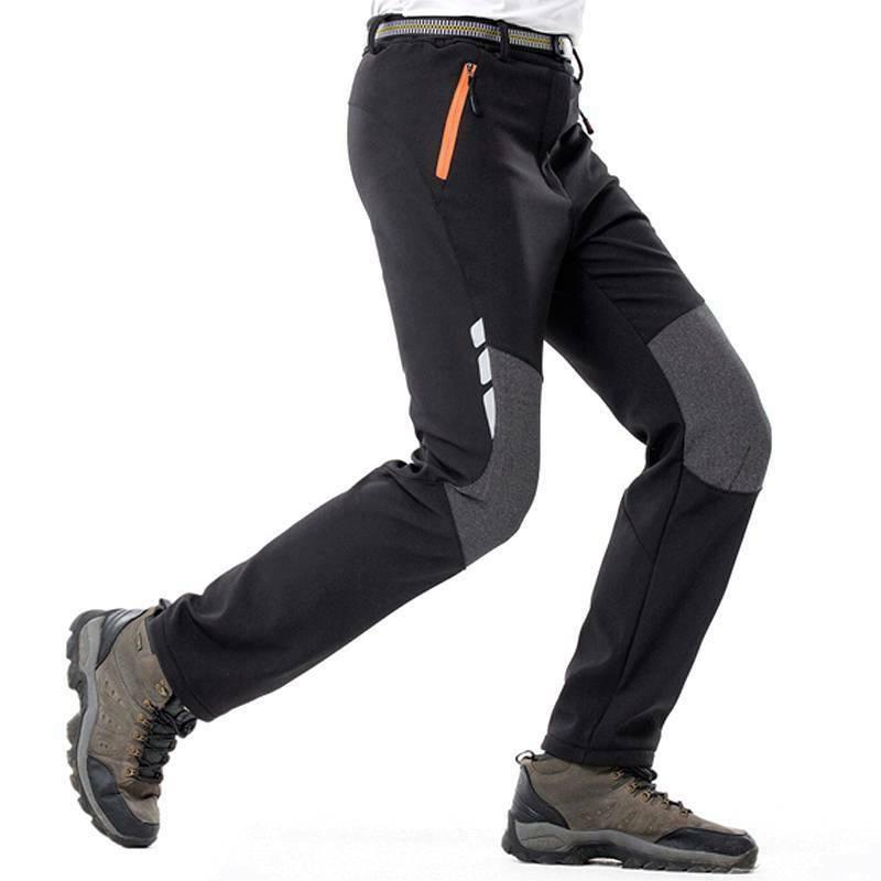 Mens Cargo Elastic Waist Pockets Climbing