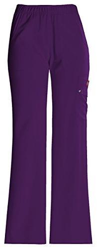 Dickies Women's Mid Rise Pull-On Cargo Pant_Eggplant_XXX-Lar