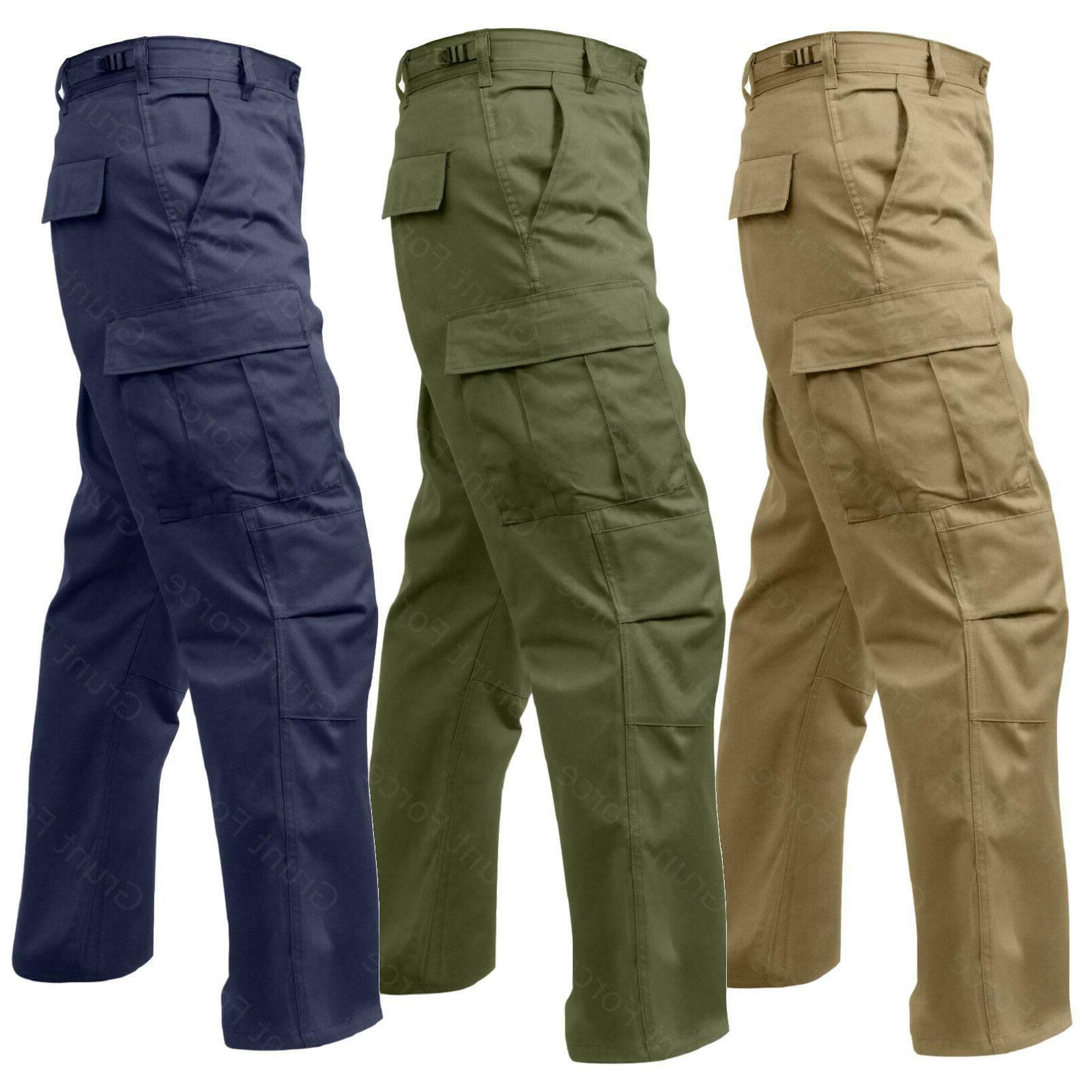 MILITARY TACTICAL FATIGUE TROUSERS