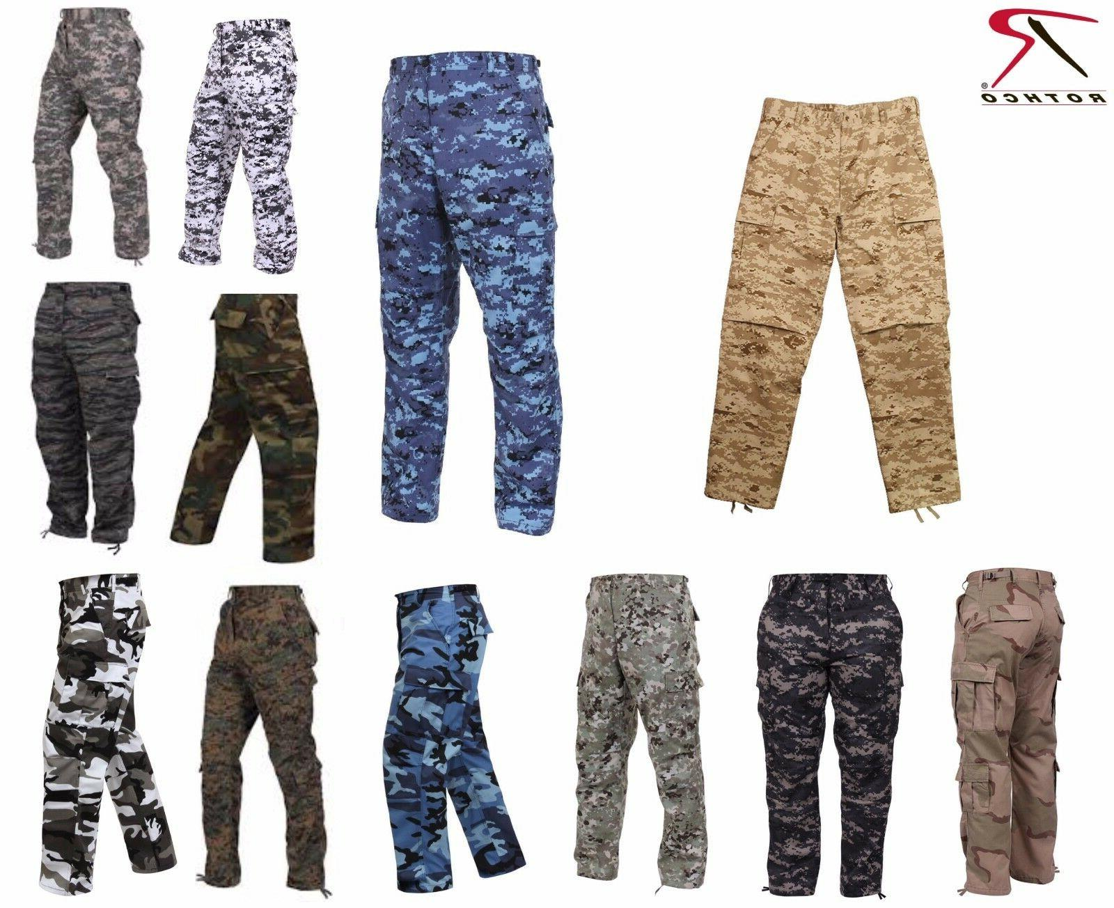 Rothco Military Camouflage BDU Cargo Army Fatigue Tactical C