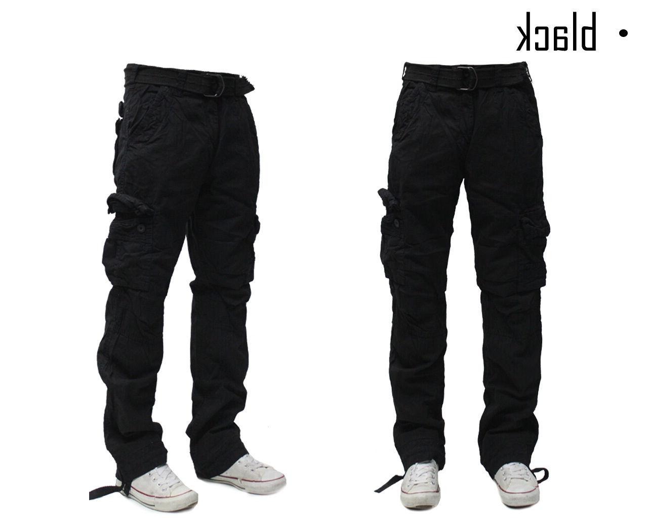 Military Men's Pants Combat Solid Army