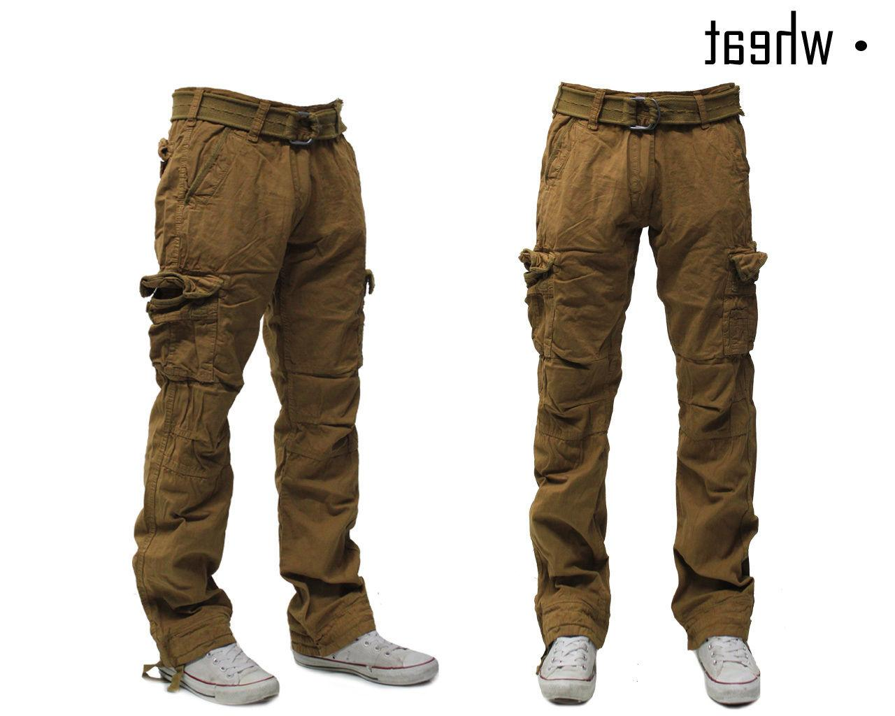 Military Cotton Cargo Pants Solid Army Trousers