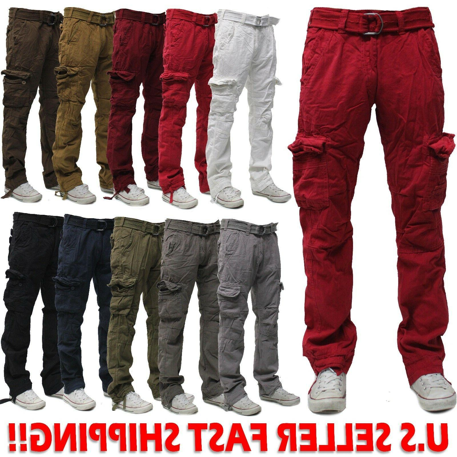 military men s cotton cargo pants combat