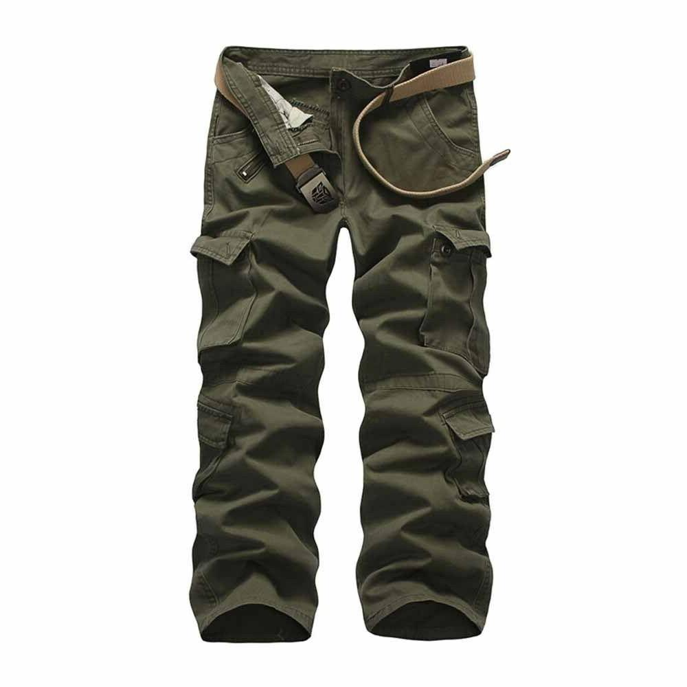 Military Men's Cargo Pants Camouflage Army Trousers